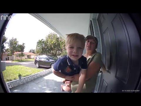 Captain Tony - WATCH: Doorbell Greeting Fail