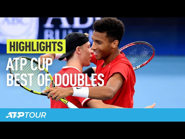 Best Of Group Stage Doubles | ATP CUP