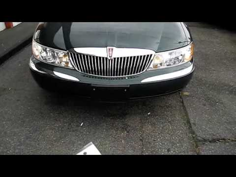 Start Up the 2000 Lincoln Continental With Full Vehicle Tour