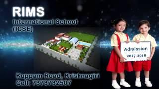Rims ICSE Add    School Admissions    7373732507