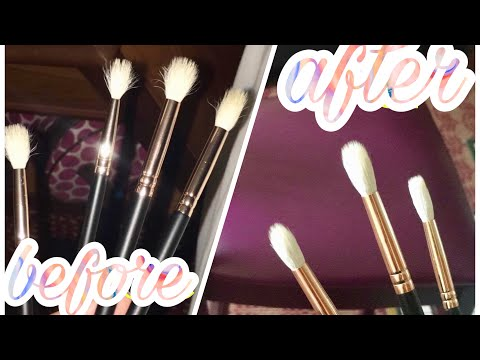 How I Clean And Sanitize My Synthetic And Natural Makeup Brushes