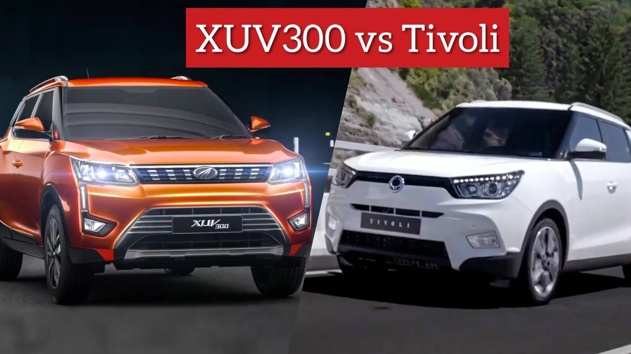 Mahindra Xuv300 Vs Ssangyong Tivoli Same Same But Different Youtube