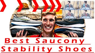 Which Saucony Stability Shoe Will Work for You? I cover the Guide+Hurricane. With a fitting example!