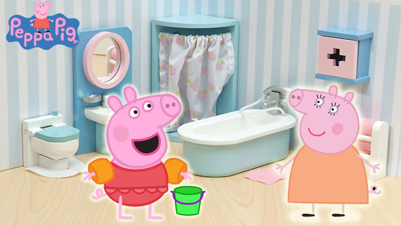 New 2015 Peppa Pig English Episodes Peppa Pig Cleaning