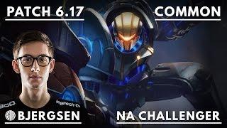 214. TSM Bjergsen - Jayce vs Aurelion Sol - Mid - September 1st, 2016 - Season 6 - NA Challenger