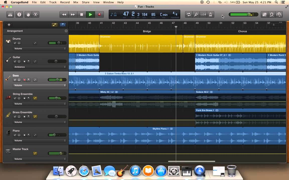 Garageband Songs Garageband Song With Apple Loops And Drummer