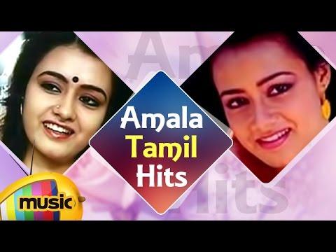 Amala Tamil Songs   Back to Back Video Songs   Amala Akkineni Tamil Hits   Mango Music Tamil
