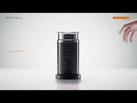 Nespresso VertuoPlus: How To -  Aeroccino Use
