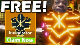 I gave people the NEW incinerator legendary for FREE! | Dungeon Quest Update (Roblox)