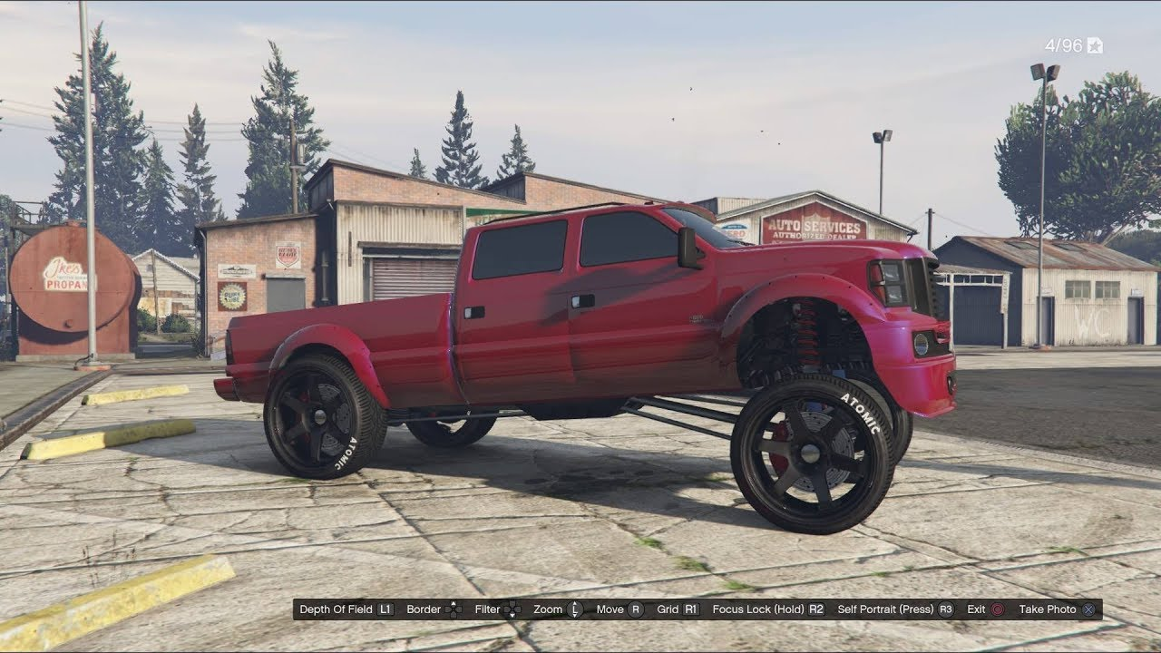 How To Squat Your Truck Harder On Gta5 Ps3 Ps4 Xbox360 Xbox1 Youtube
