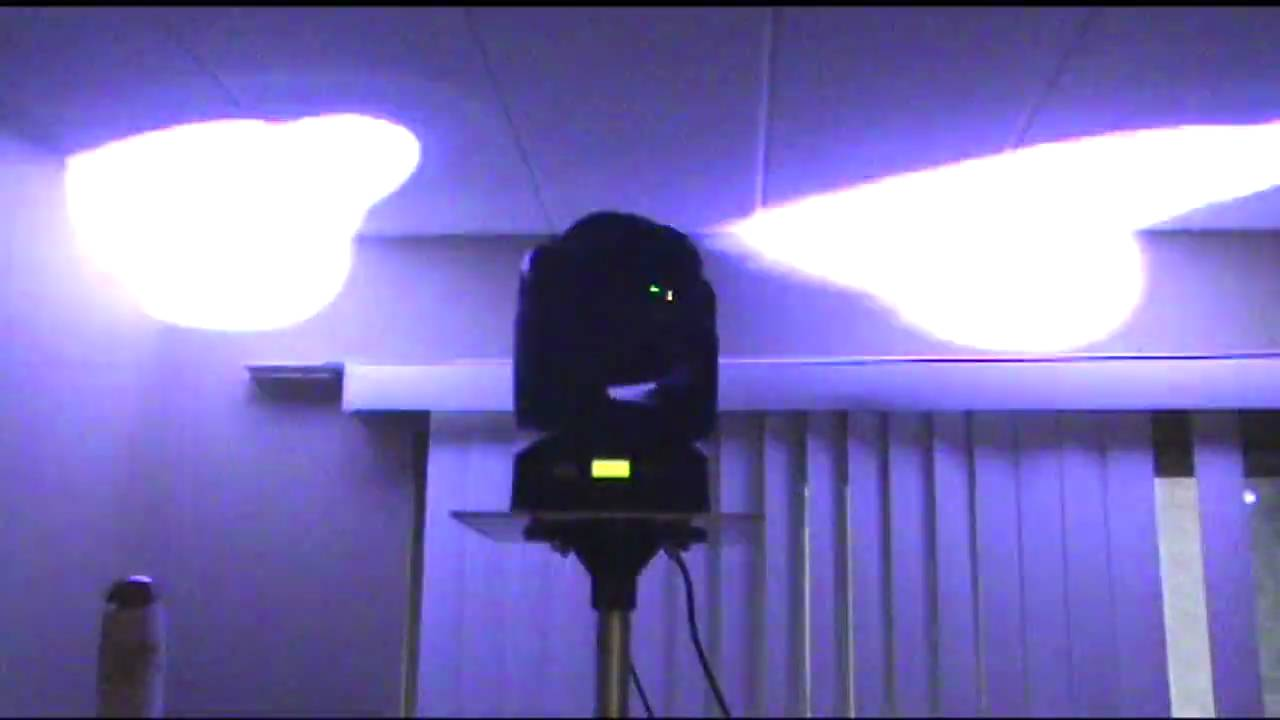 Custom Moving Head Mounts For Chauvet Q Spot 150 S Youtube