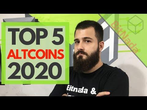 TOP 5 🔥 ALTCOINS 🔥 PARA 2020