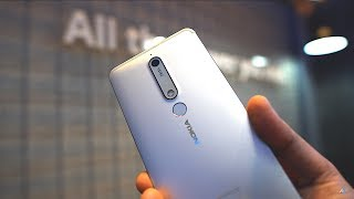 [HINDI] Nokia 6 2018 unboxing and hands on review (Nokia 6.1 unboxing)