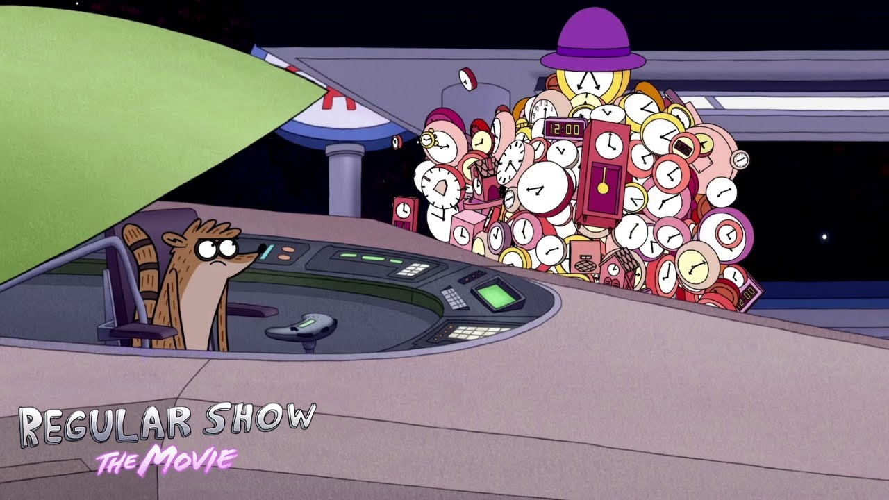 Download Regular Show - Rigby Meets Father Time In Space | Regular Show: The Movie