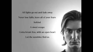 alesso sweet escape ft sirena lyrics