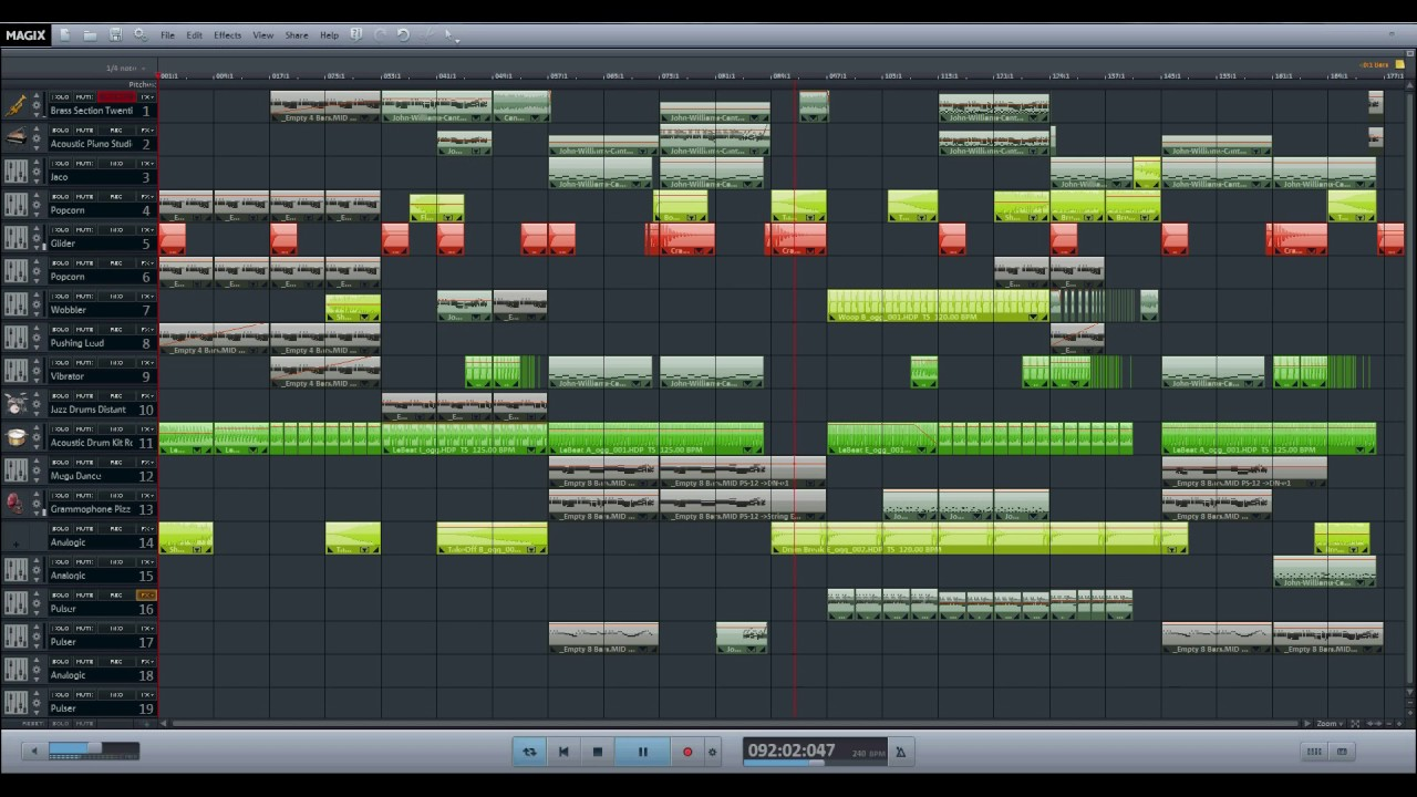 Cantina Band - Electro Swing Remix - Magix Music Maker Premium