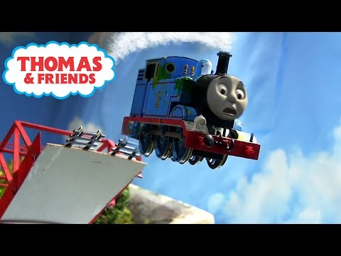 The Great Vicarstown Bridge JUMP! Thomas And Friends: THE GREAT RACE REMAKE OO/HO