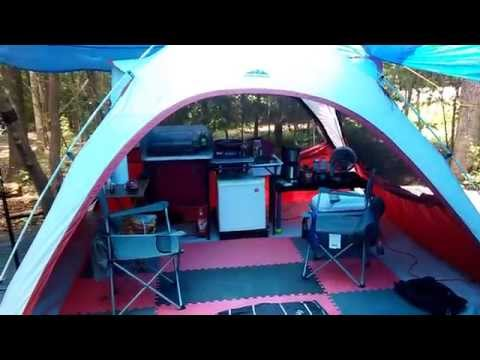 Ozark Trail/NW Territory Tent Camping (luxury)