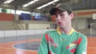 Entrevista com Ricardinho  Camisa 10, de Canoas de futebol para cegos do Brasil.