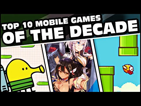 TOP 10 MOBILE GAMES OF THE DECADE! (2009-2019)