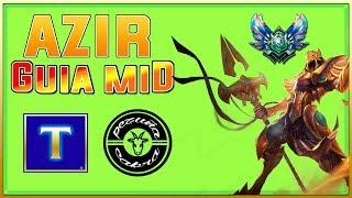 AZIR GUIA MID ft. PEZUÑA CABRA YTB (Main Azir) PARTE 2   TenYasha LOL