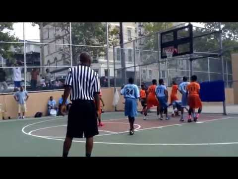 Kyrie Irving Rod Strickland Summer Basketball League 2014 Biddy Championship Game