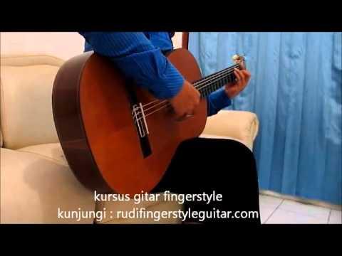 Belajar Gitar Fingerstyle Papinka Masih Mencintainya