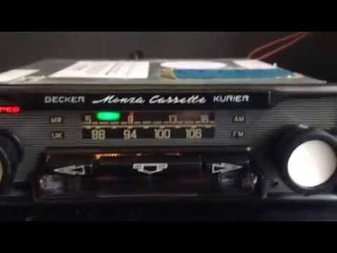 Chromelondon BMW BAVARIA CR STEREO BY BECKER  VERY RARE BMW OEM RADIO CASSETTE WITH MP3 CONNECTIVIY