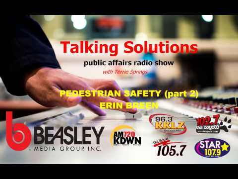 Talking Solutions and Pedestrian Safety (part 2)