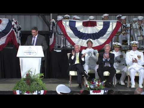 Austal USA - USS Charleston (LCS 18) Christening
