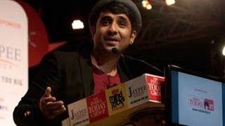Butter chicken equals love: Vir Das
