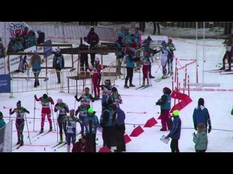 FISU World University Championship. SKI Orienteering 2016. Mass start competition in HD quality.