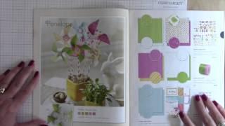 Close to My Heart Spring Catalog Walkthrough