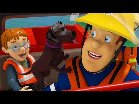 Download Youtube: Fireman Sam New Episodes | Puppy on the loose - 45 Minutes Adventures 🚒 🔥  Cartoons for Children
