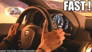 Lamborghini Aventador ACTION Ride - Tunnel Accelerations Revs!