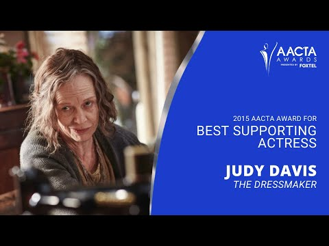 Judy Davis wins Best Supporting Actress at the 5th #AACTAs