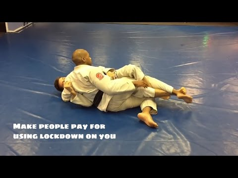 A Stupid Simple Way to Pass the Lockdown in Half Guard