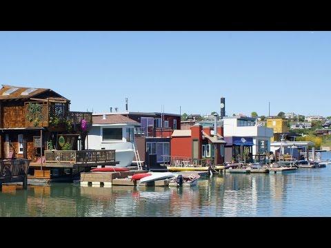 Sausalito California Houseboat Community