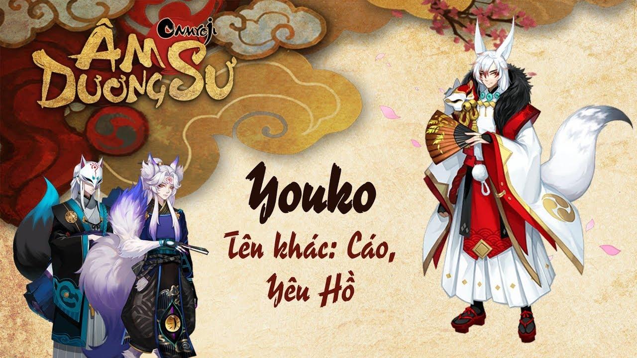 [Garena Âm Dương Sư] Thức thần Youko a.k.a Cáo & Nhân phẩm là gì?