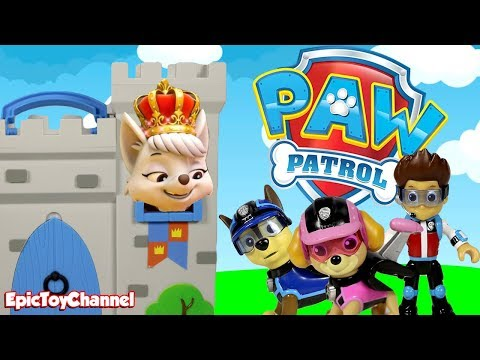 Paw Patrol Nickelodeon Mission Paw Sweetie Stole Mission Paw Gear & Paw Patrol does a Royal Rescue