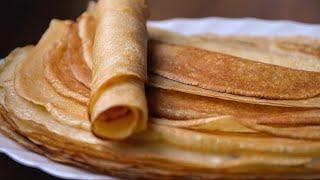 ✧ ТОНКИЕ И ЭЛАСТИЧНЫЕ БЛИНЫ Базовый Рецепт ✧Thin Pancakes Basic recipe ✧ Марьяна