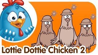 Aprende INGLÉS con la Gallina Pintadita - Lottie Dottie Chicken