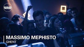 Massimo Mephisto The Sound of Belgium Boiler Room DJ Set
