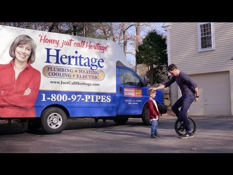 Heritage Plumbing 3 Commercial Loop TV 30s