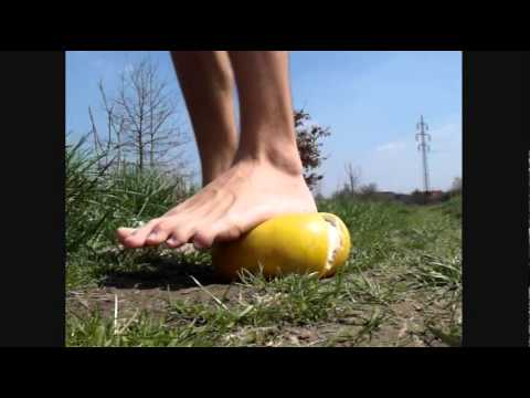 Video 21 - Barefoot fruit stomping 2
