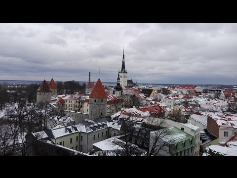 A Winter Walk in Tallinn Old Town