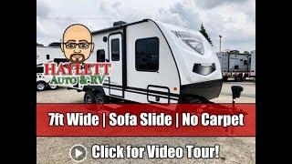 UPDATED 2020 Winnebago 2106FBS Carpetless Travel Friendly Mini Couple's Trailer