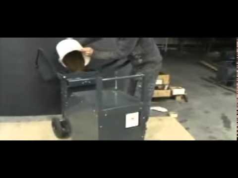 PRESSATERRE Hydraulique - Presse pour brique en terre crue