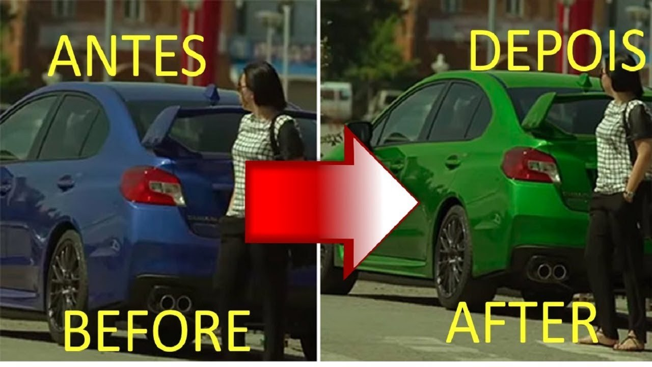 Colour changing car technology - New Technology Color Changing Car