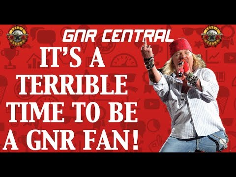 Guns N' Roses: It's a Terrible Time to Be a Guns N' Roses Fan! Copyright Battles